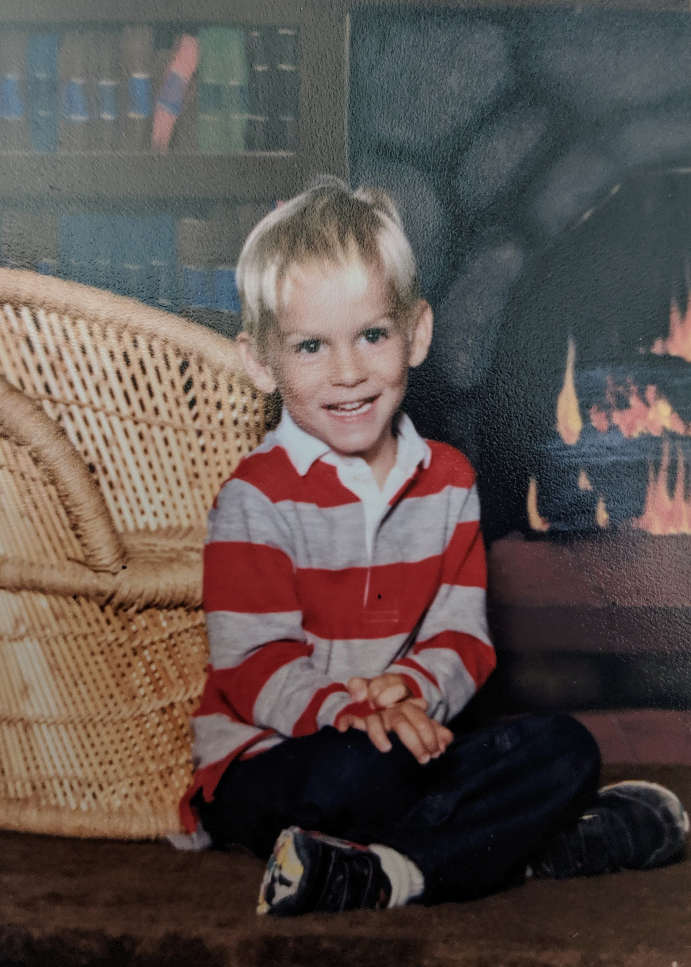 Chad Smith, age 4